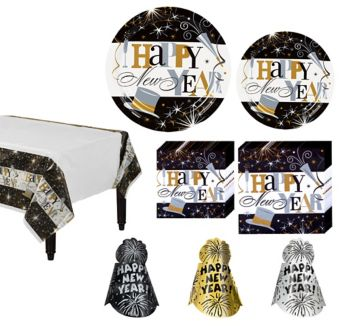 Elegant Celebration Ultimate Tableware Kit for 120 guests