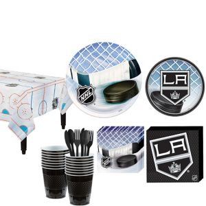 Los Angeles Kings Basic Party Kit for 16 Guests