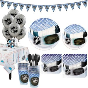 NHL Hockey Super Party Kit for 16 Guests
