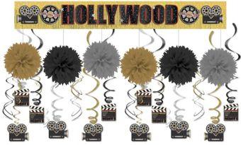 Clapboard Hollywood Super Decorating Kit