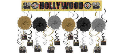 Clapboard Hollywood Super Decorating Kit