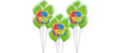 Tie Dye 60s Balloon Kit