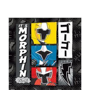 Power Rangers Ninja Steel Lunch Napkins 16ct