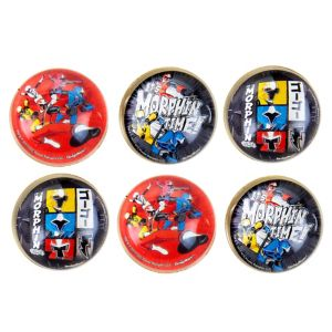 Power Rangers Ninja Steel Bounce Balls 6ct
