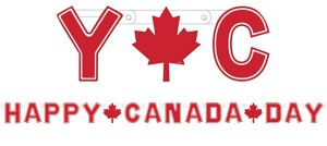 Canada Day Letter Banner