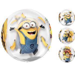 Minions Balloon - See Thru Orbz
