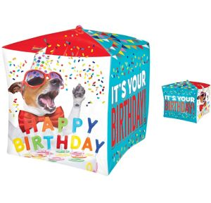 Dog Birthday Balloon - Cubez