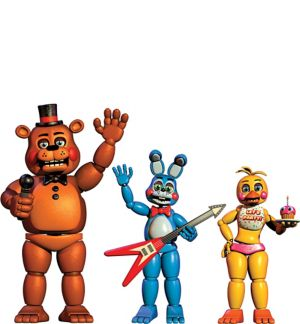 Five Nights at Freddy's Cutouts 3ct