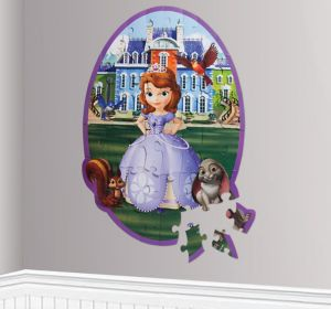 Sofia the First Wall Puzzle 46pc