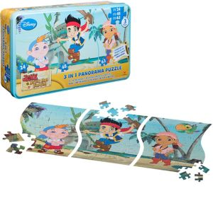 Jake and the Never Land Pirates Panorama Puzzle 135pc