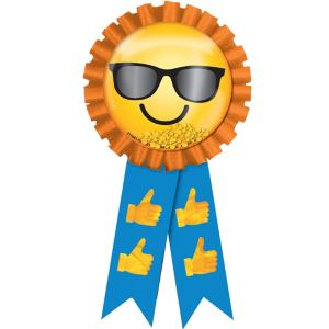 Smiley Award Ribbon
