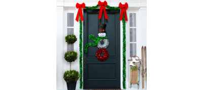 Snowman Door Decorating Kit