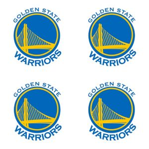 Golden State Warriors Face Tattoos 4ct