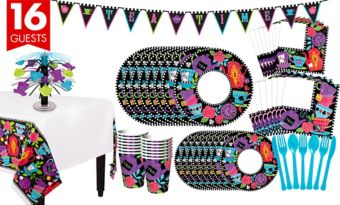 Mad Tea Party Tableware Kit for 16 Guests