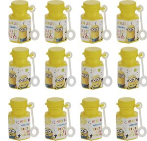 Despicable Me 3 Mini Bubbles 12ct
