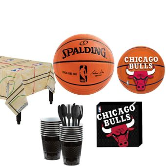 Chicago Bulls Basic Party Kit 16 Guests