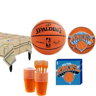 New York Knicks Basic Party Kit 16 Guests