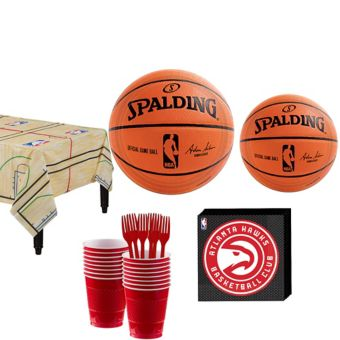 Atlanta Hawks Basic Party Kit 16 Guests