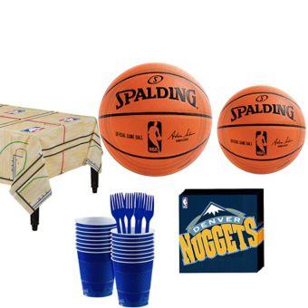 Denver Nuggets Basic Party Kit 16 Guests