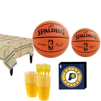 Indiana Pacers Basic Party Kit 16 Guests