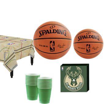 Milwaukee Bucks Basic Party Kit 16 Guests