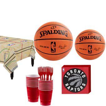 Toronto Raptors Basic Party Kit 16 Guests