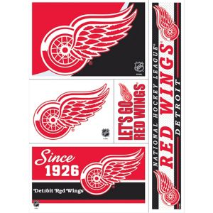 Detroit Red Wings Decals 5ct