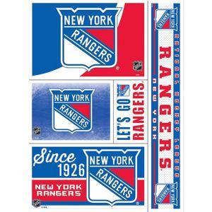 New York Rangers Decals 5ct