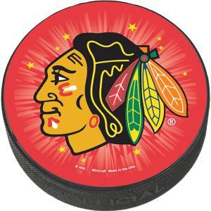 Chicago Blackhawks Hockey Puck