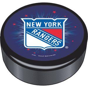 New York Rangers Hockey Puck