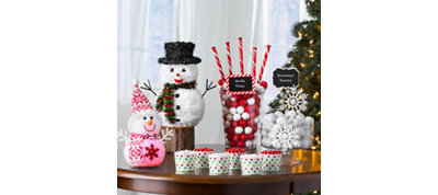 Snowman Candy Buffet Kit