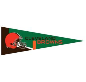 Small Cleveland Browns Pennant Flag