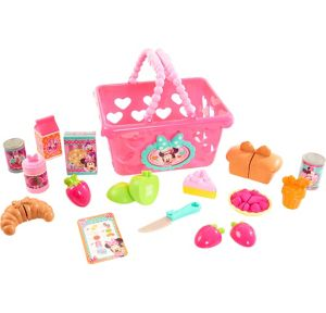 Minnie Mouse Shopping Basket Playset 24pc