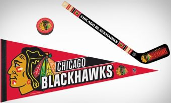 Chicago Blackhawks Slap Shot Fan Kit