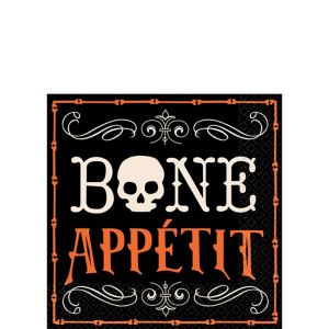 Bone Appetit Beverage Napkins 16ct
