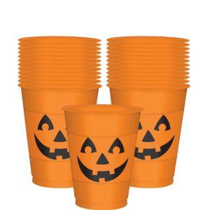 Jack-o'-Lantern Cups 25ct