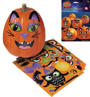 Pumpkin Sticker Book 4 Sheets