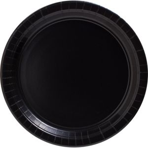 Big Party Pack Black Paper Dinner Plates 50ct