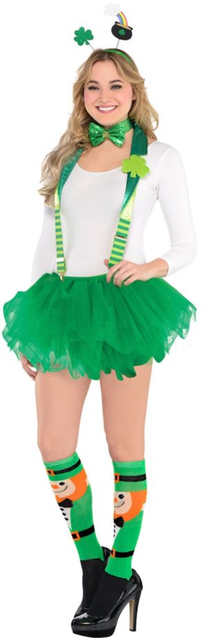 Adult Fancy Leprechaun St. Patrick's Day Costume