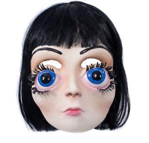 Adult Big Eyes Girl Mask