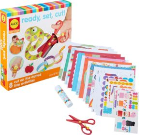 Alex Little Hands Ready, Set, Cut Craft Kit 315pc