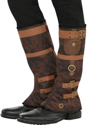Adult Steampunk Boot Spats