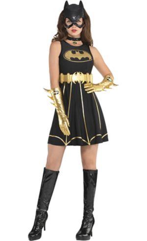 Adult Batgirl Fit & Flare Dress - Batman