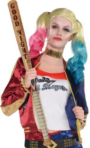 Adult Harley Quinn Jacket - Suicide Squad