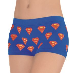 Adult Supergirl Boyshorts - Superman