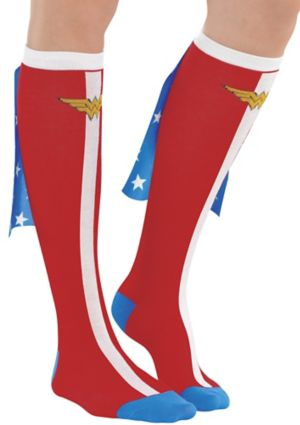 Adult Wonder Woman Knee Socks