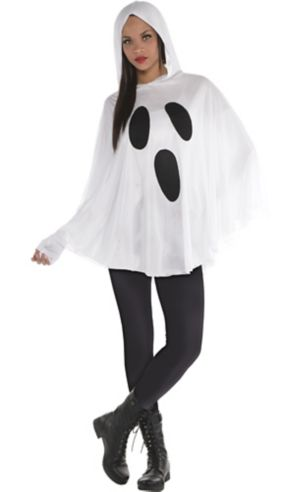 Adult Ghost Poncho