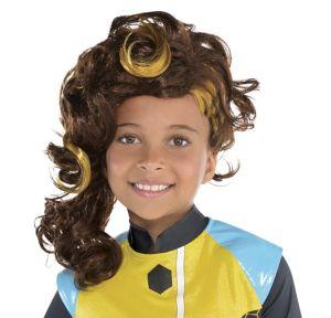 Child Sassy Bumble Bee Wig - DC Super Hero Girls