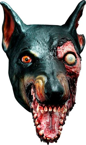 Adult Zombie Dog Mask - Resident Evil