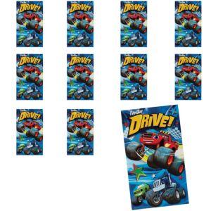 Jumbo Blaze and the Monster Machines Stickers 24ct